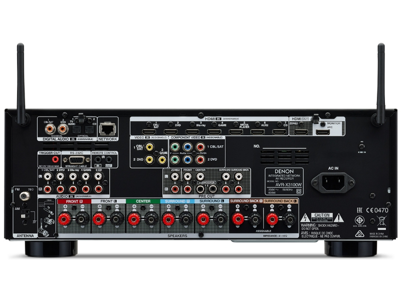 pin denon ampli tuner dra455 on pinterest. Black Bedroom Furniture Sets. Home Design Ideas
