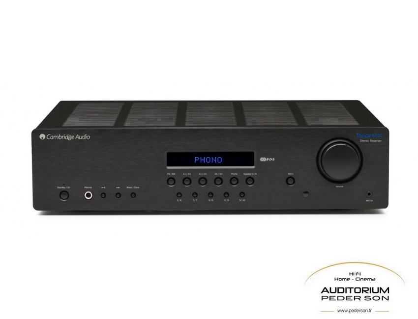 CAMBRIDGE AUDIO SR20 Black_ac_logot