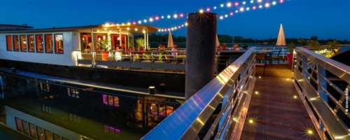 Bar / Restaurant Le Piano Barge ( Vannes )